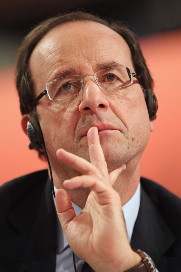 François Hollande est perplexe