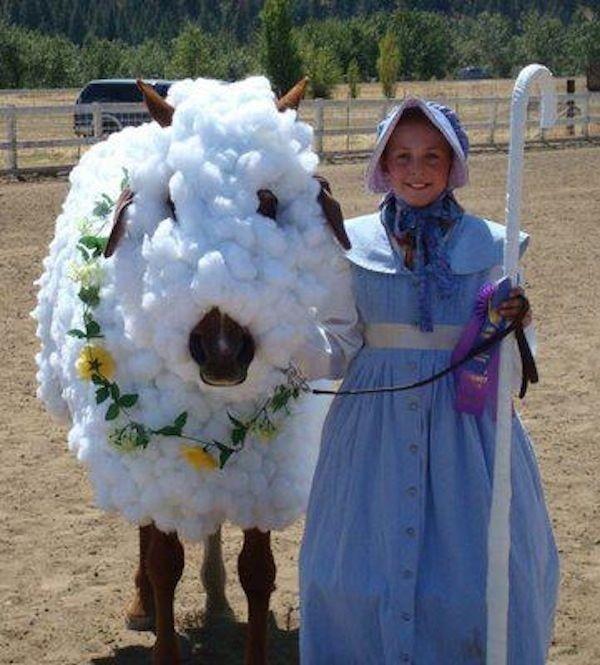 la bergère et son mouton