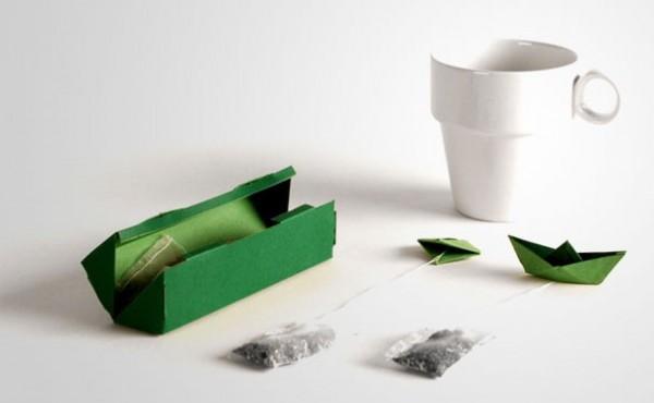 Le thé petit bateau (qui flotte)