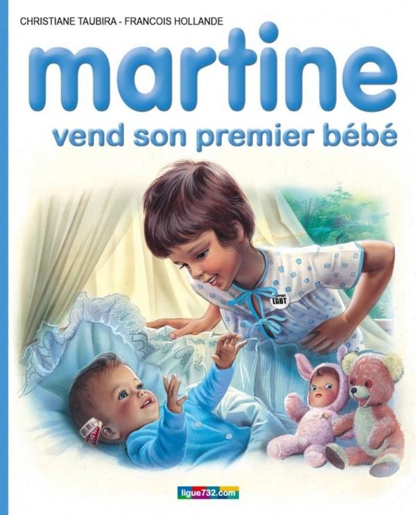 Martine vend son premier bébé