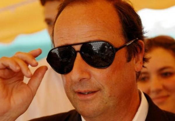 François Hollande ne plaisante pas