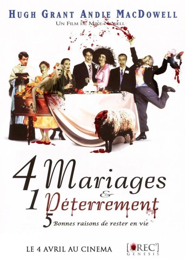 4 mariages et 1 deterrement
