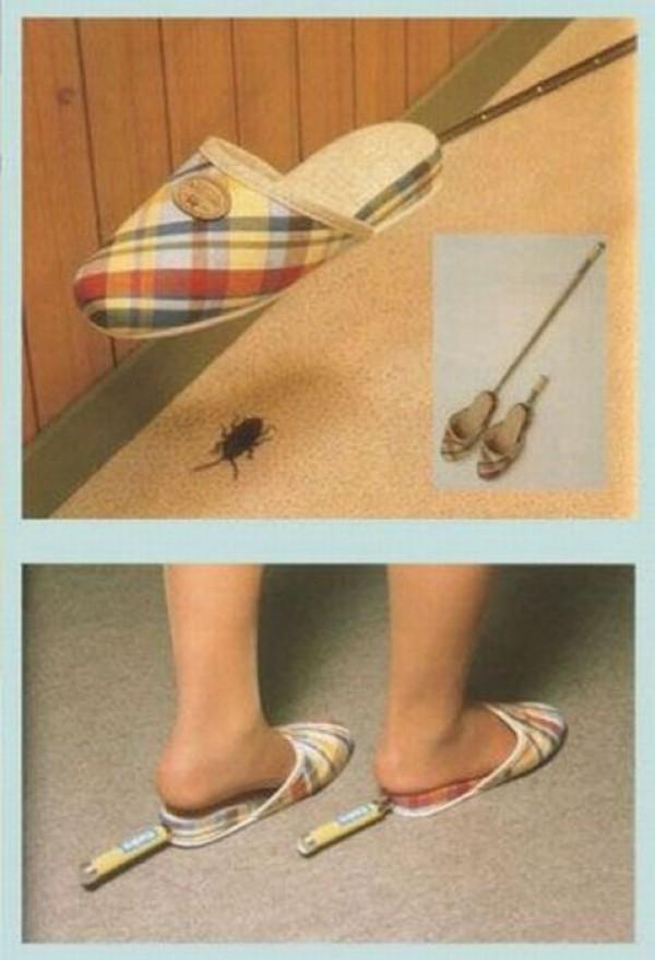 Les pantoufles tapettes
