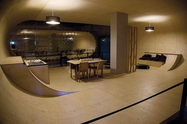 La pièce skate-park