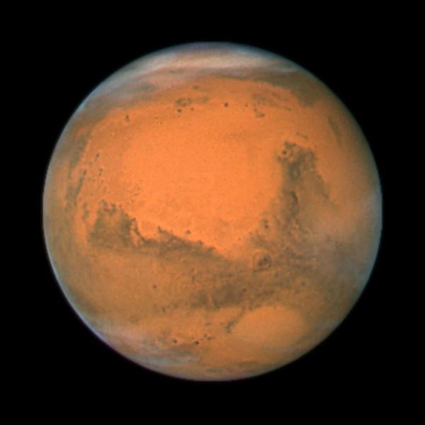 Mars_ Closest Approach 2007