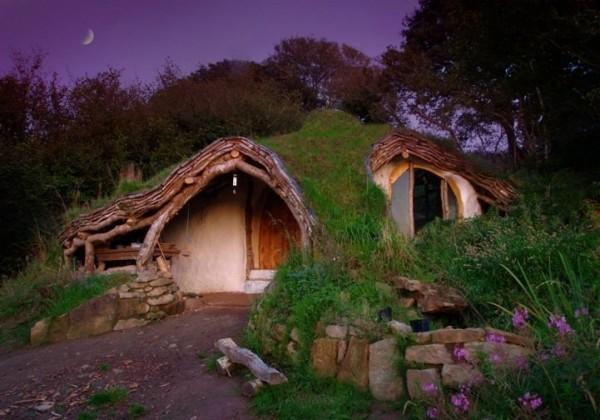 Une maison de Hobbit en Angleterre