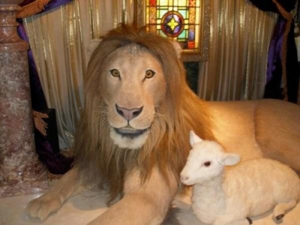 Le lion avec lissage SVP