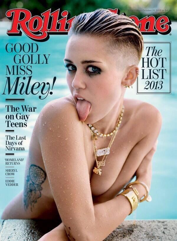 En couverture de Rolling Stone
