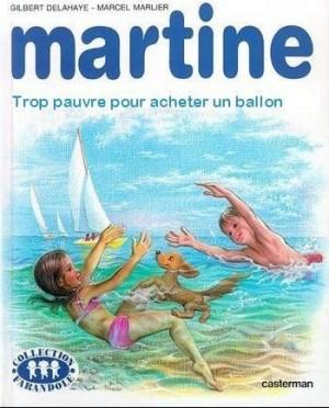 Voter pour Martine trop pauvre pour acheter un ballon