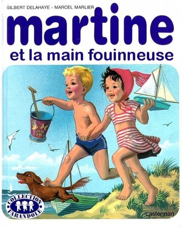 Martine et la main fouinneuse