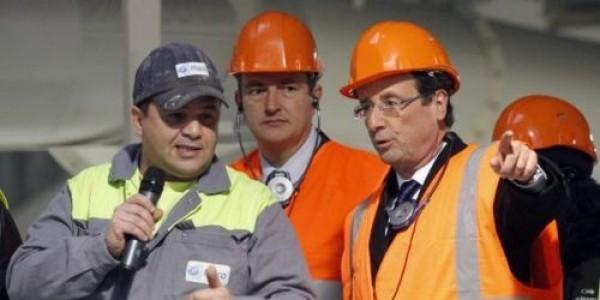 FRANÇOIS HOLLANDE est chef de chantier