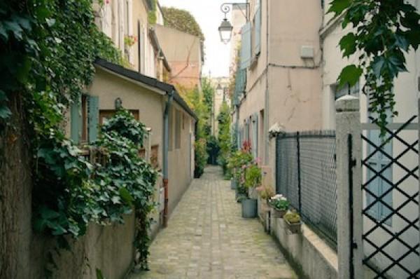 Labyrinthe d'impasses rue des Vignoles (20ème )