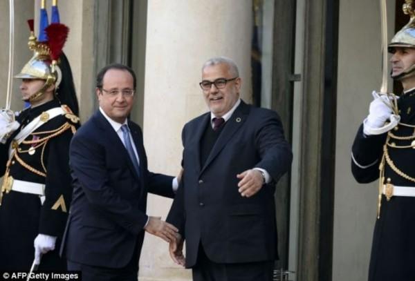 Avec le premier ministre du Maroc