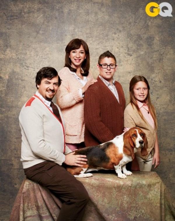 Le chien fait partie de la famille!