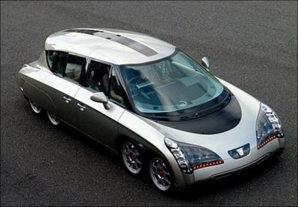 Eliica  Electric Lithium-Ion Car
