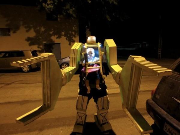 Robot d'Alien (prix de la créativité)