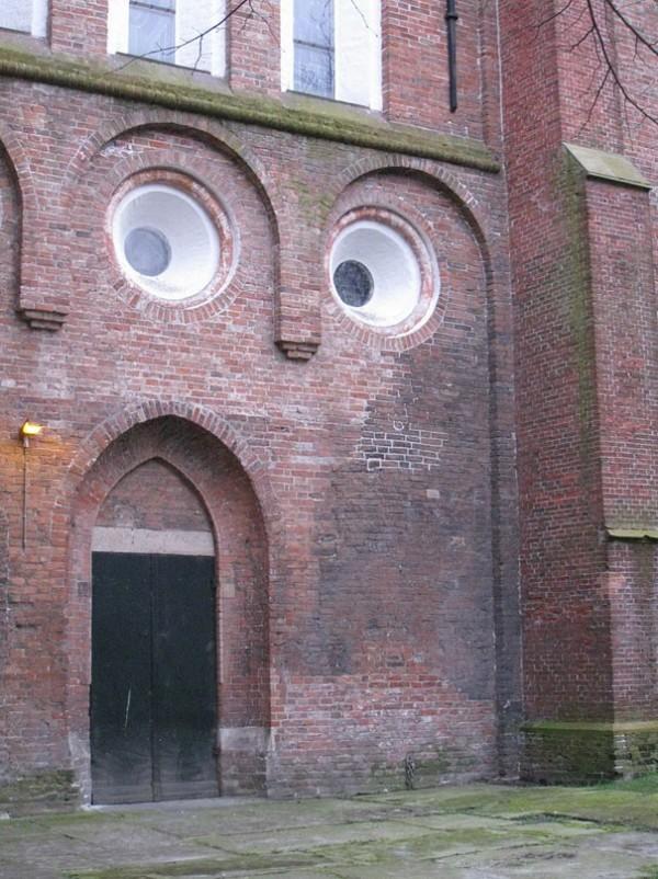 Le mur surpris