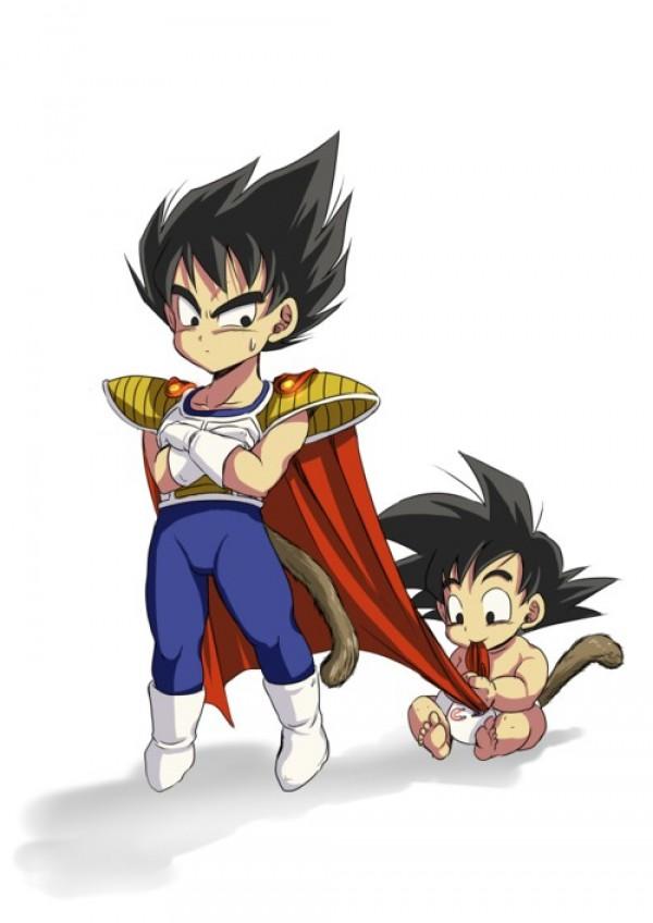 Bébé Goku