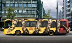 Voter pour Serpent serrant un bus