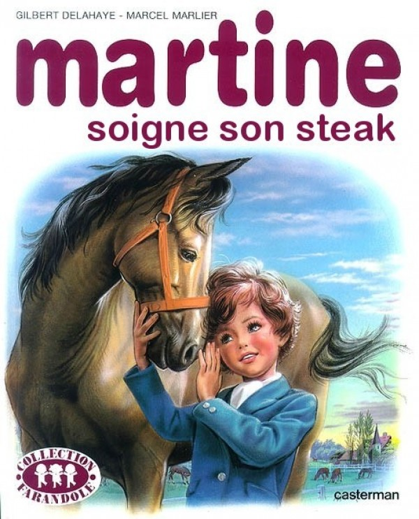 Martine soigne son steak