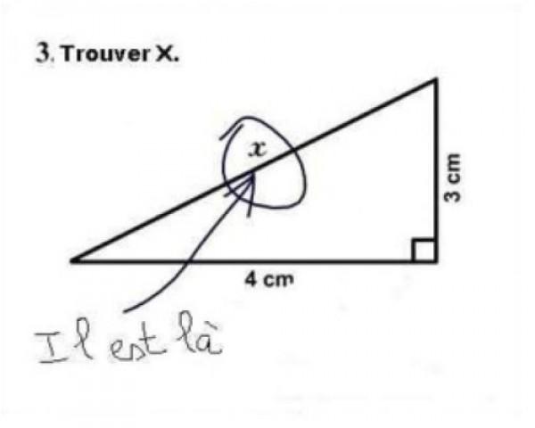 Trouver X