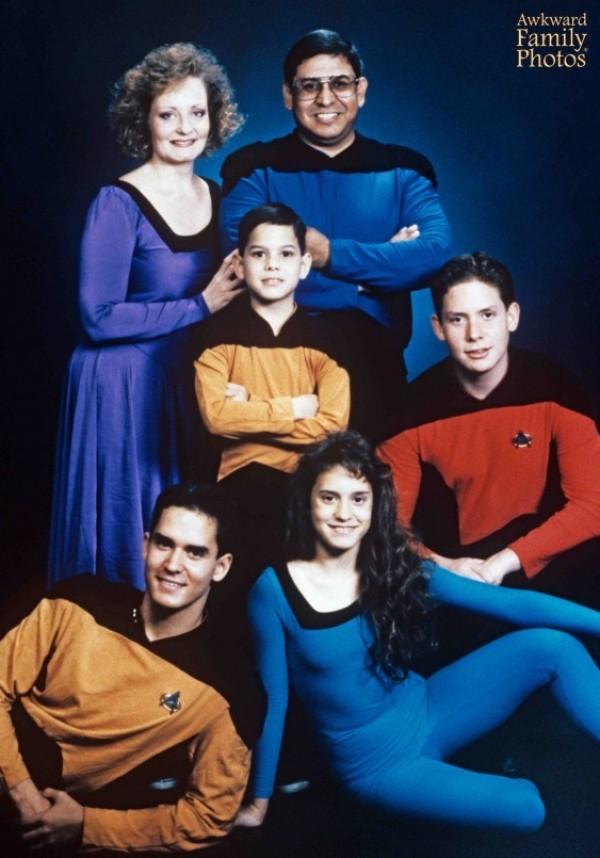 La famille Star Trek