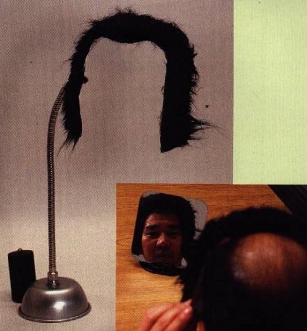 Une perruque de bureau
