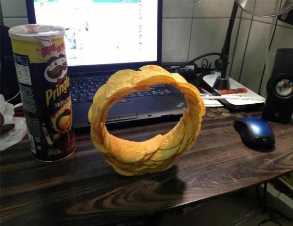 L'anneau de Pringles