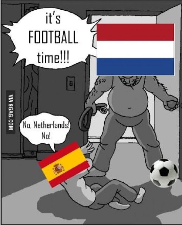 Espagne vs Hollande