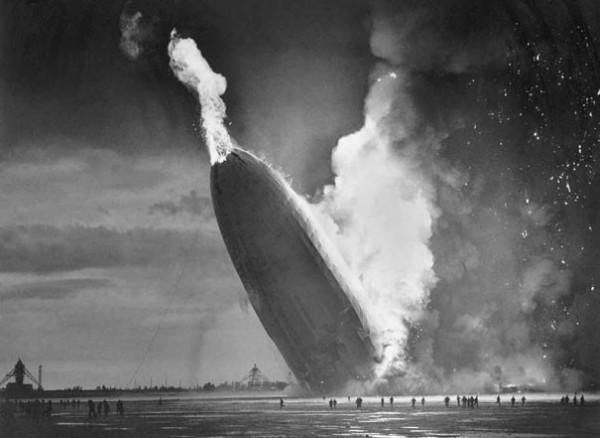 1937 : Un Zeppelin s'écrase à Hindenburg