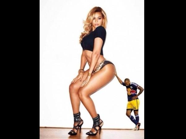 Thiery Henry plote le cul de Beyoncé