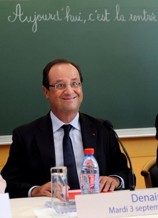 L'élysée exige le retrait de cette photo de François Hollande d'internet