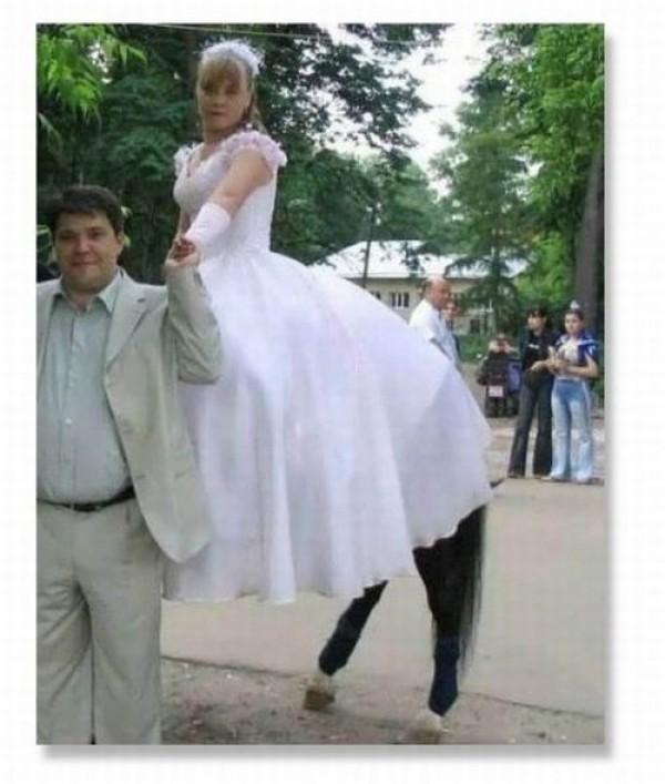 Mariée volante