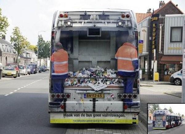 Campagne de sensibilisation à la propreté aux Pays Bas