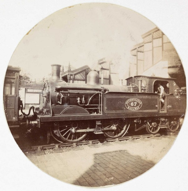 Metropolitan railway steam locomotive