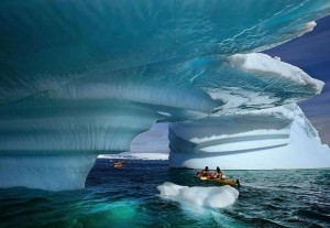 Voter pour Dans ce Kayak à la Baie du Glacier dans l'Etat d'Alaska