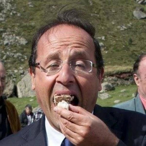 François Hollande a un petit creux
